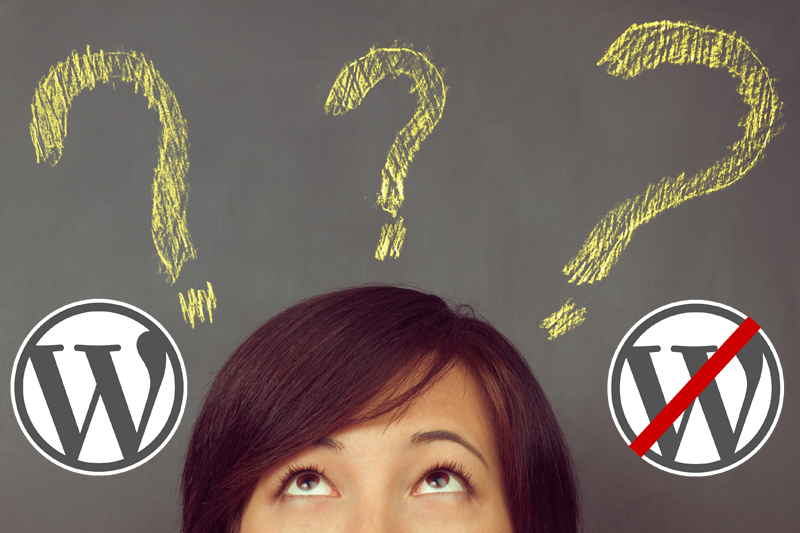 To WordPress or Not to WordPress?  That is the Question.