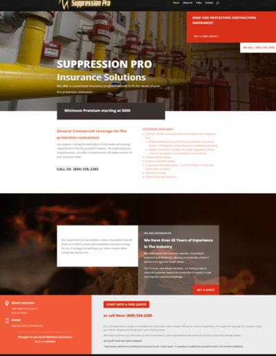 Suppression Pro Insurance